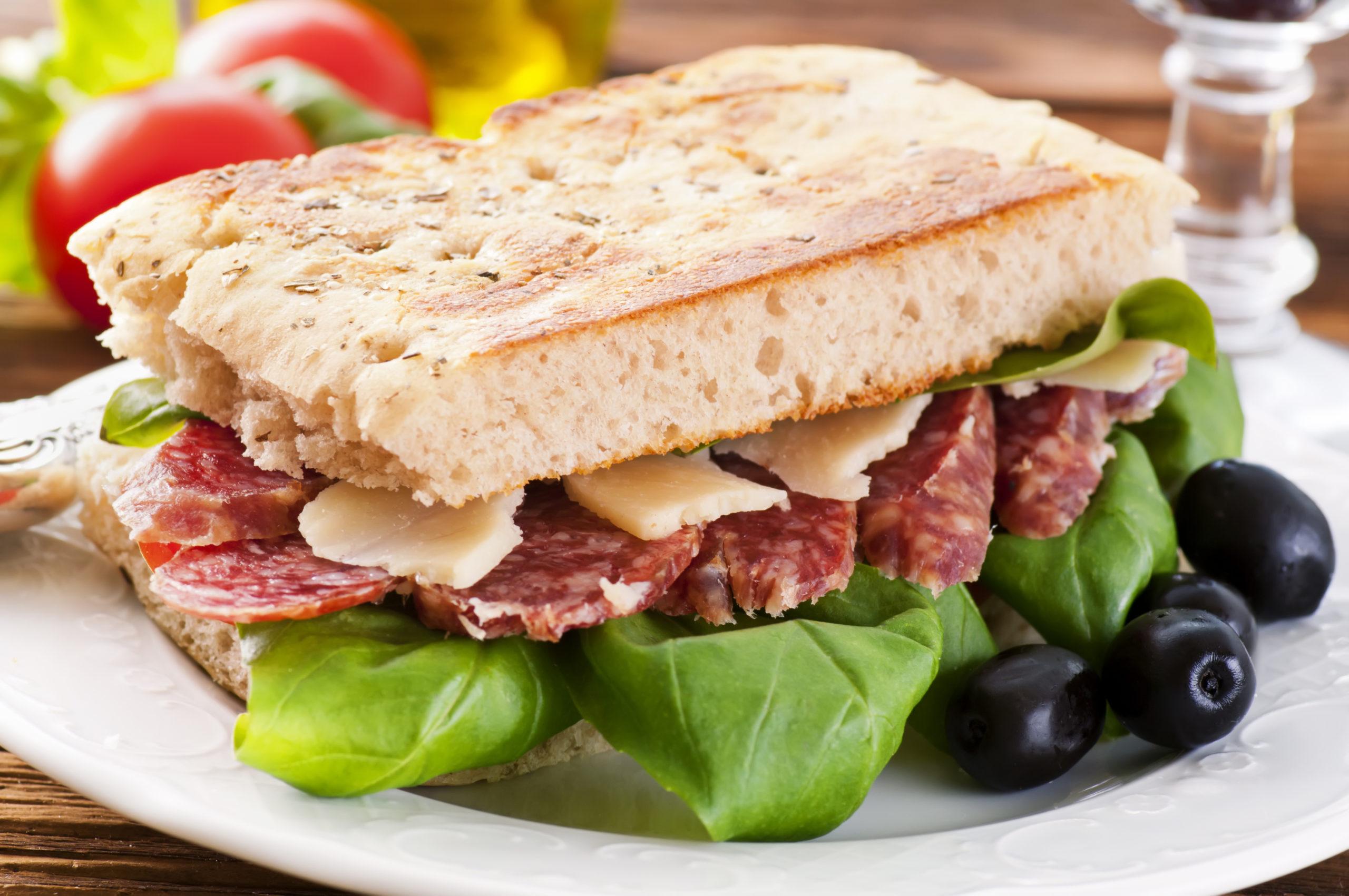 Salamisandwich bei Histaminintoleranz