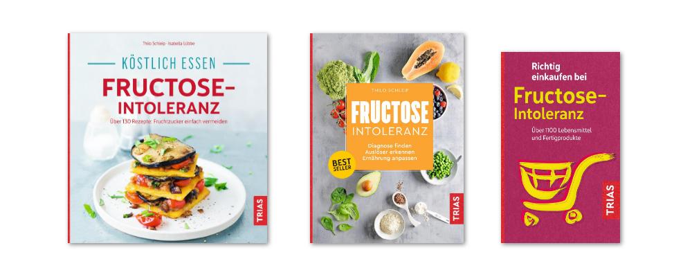 Bücher über die Fructoseintoleranz