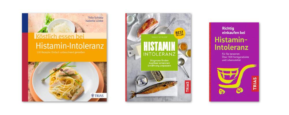 Histaminintoleranz Bücher von Thilo Schleip
