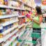 Supermarkt histaminreiche und histaminarme Speisen und Getränke
