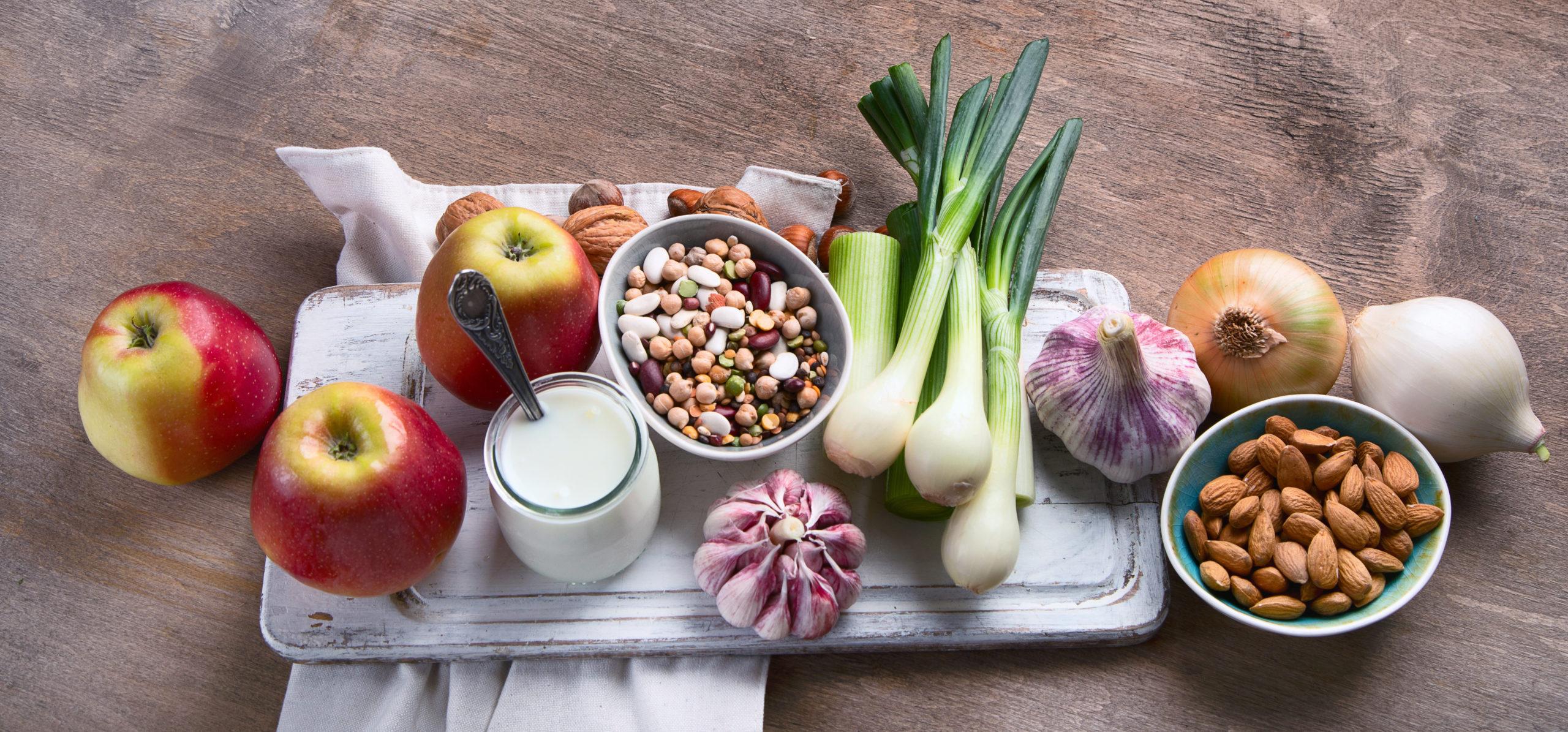 Lebensmittel reich an Pro- und Präbiotika